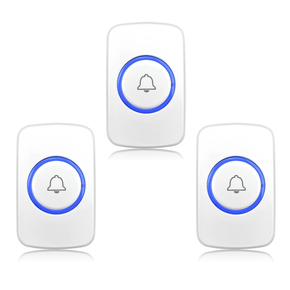 Etiger 3PCS Elderly Wireless Panic Button Emengency Button Wireless Emergency Calling System 433MHz for System P511 wireless pager system 433 92mhz wireless restaurant table buzzer with monitor and watch receiver 3 display 42 call button