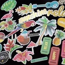 Ksccraft 122 шт красочные карточные вырубки для скрапбукинга Happy planner/изготовление открыток/Журнал проекта