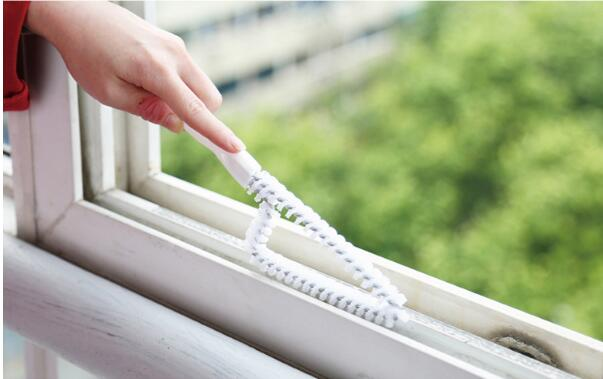 1PC Multipurpose Window Cleaner Groove Cleaning Brush Household Brush Cleaner Keyboard H ...