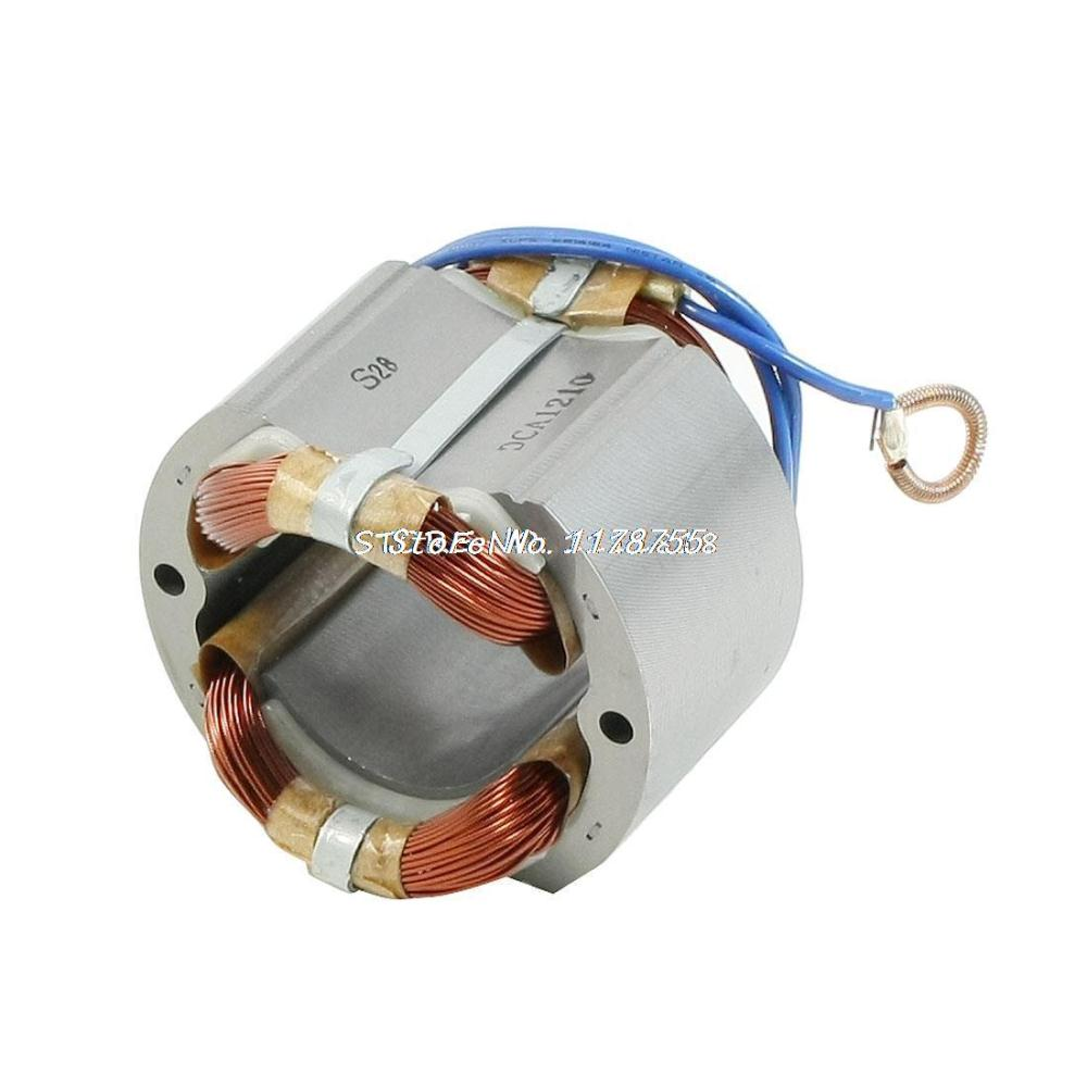AC220V Circular Saw Replacement 51mm Core Armature Stator for Makita 5900B 33mm core 4 cables electric motor stator armature ac 220v for makita 9500n