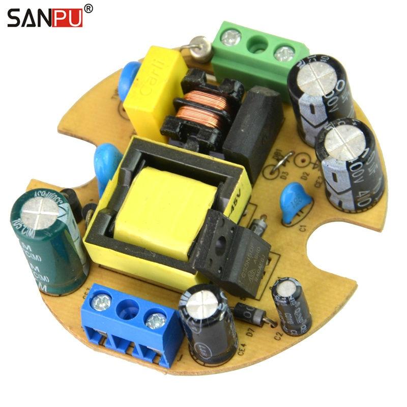 Светодиодный драйвер 350 мА, 2 шт., 12 Вт, 45 в, постоянный ток, режим переключения, блок питания с открытой рамой, встроенный для светодиодной лампы led driver 12w driver 12wled driver   АлиЭкспресс