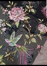 African French Lace Fabric High Quality Tulle Net Embroidery Wedding Nigerian For 5yards DYS143