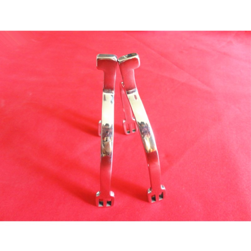 Stainless Steel English Horse Spur Long Square Neck Spurs Horse Equipement Free Shipping L2012