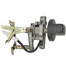 Газовая плита с одной и двойной горелкой с одной насадкой клапан с ручкой
