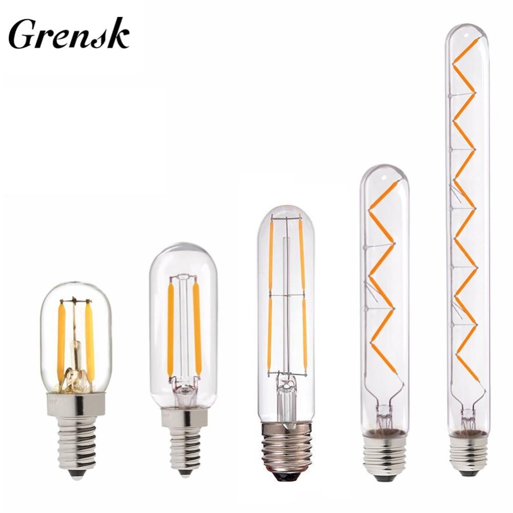 Grensk T30 E14 Ampoule Led Dimmable Ampoule A Led Edison E27