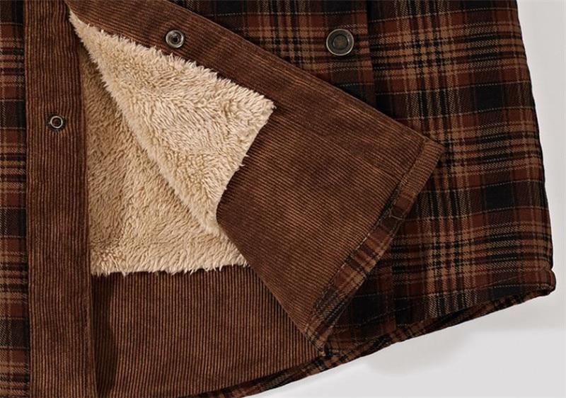 HTB1qERubEzrK1RjSspmq6AOdFXau Autumn and winter men's jacket casual shirt plus velvet jacket business casual large size coat