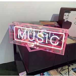 Image 1 - ใช่รักบ้าน Iconic ป้ายป้ายนีออนหลอด Handcrafted ออกแบบที่กำหนดเอง Neon หลอดไฟเบียร์บาร์ผับ Home KTV Professional แสง