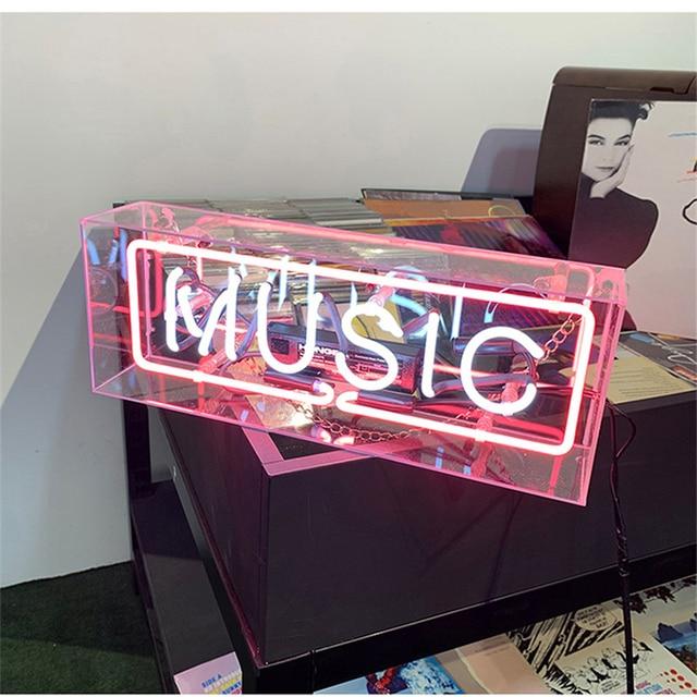 ใช่รักบ้าน Iconic ป้ายป้ายนีออนหลอด Handcrafted ออกแบบที่กำหนดเอง Neon หลอดไฟเบียร์บาร์ผับ Home KTV Professional แสง