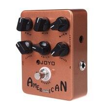 JOYO JF 14 Pedal de efecto de guitarra, sonido americano, reproduce el sonido y Mooer, funciona perfectamente con la limpieza accionada por envío gratis