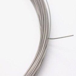 0.05mm -- 0.7mm, 100 m, 304 fio de aço inoxidável mais macio, único fio de aço recozido macio
