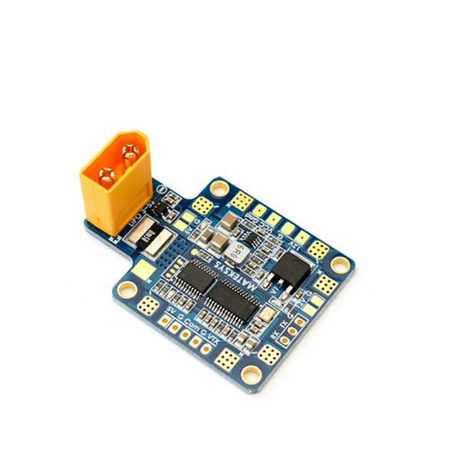 Matek HUBOSD eco X Тип, w/STOSD8, Датчик тока, двойной BEC и XT60 для FPV Гонки