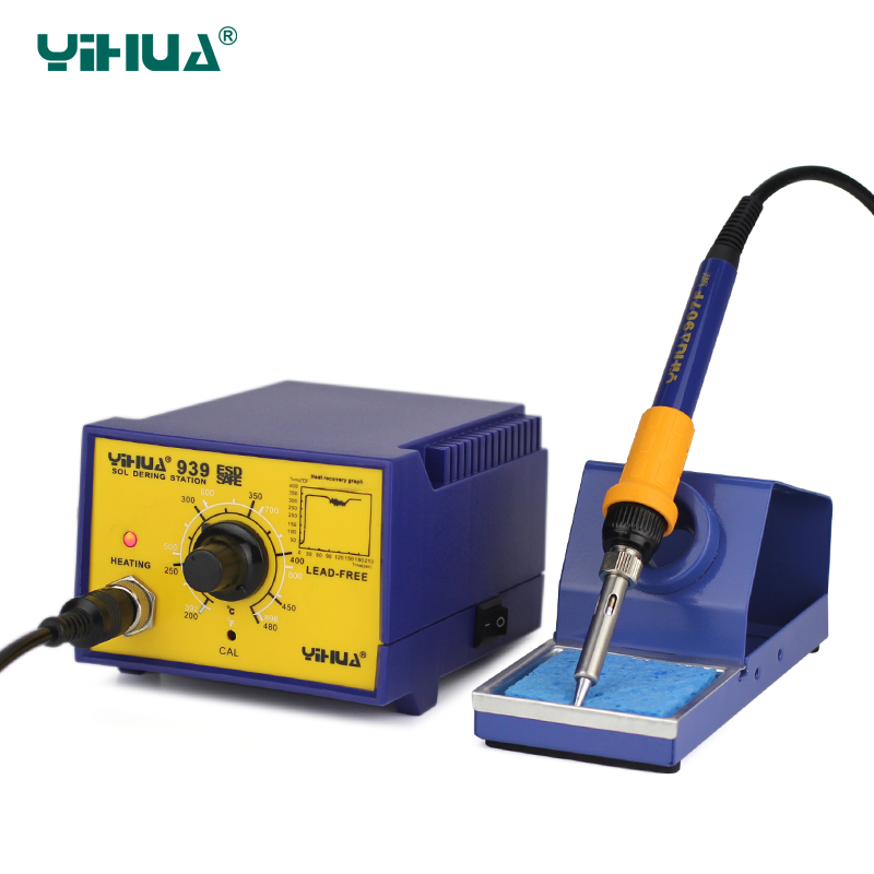 Large Power SMD YIHUA 939 PCB Soldering Station For repair  dhl yihua 995d soldering station used for motherboard repair tools 1pc