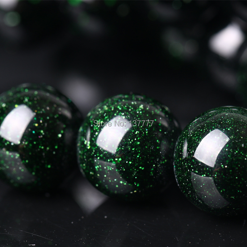 Green and Black Acrylic Beads 23x18mm 12 Beads
