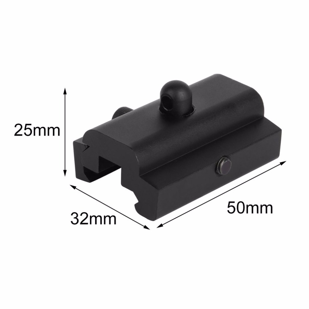 Sling Swivel Stud Adapter Weaver Picatinny Airsoft Tactical Rail Harris Style Rifle Bipod Mount Hunting Outdoor Sports Mount in Scope Mounts Accessories from Sports Entertainment