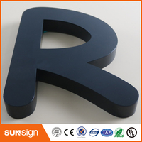 Custom 3d Stainless Steel Letters Sign Metal Letter Sign