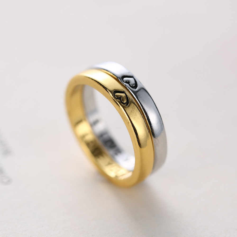 personalized wedding rings thin secret message ring goldsilver posey ring with i love you lovers gifts ring for women men in rings from jewelry - Personalized Wedding Rings