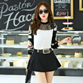 Hot Sale New Arrival 2016 Spring and Fall Fashion Women Blouse Plus Size Long Sleeve Female Casual Slim Female Shirt Tops 11B 35