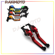 цена на for YAMAHA YZF R6/R6S CANADA VERSION with logo CNC Motorcycle Accessories Adjustable Brake Clutch Levers Foldable Extending