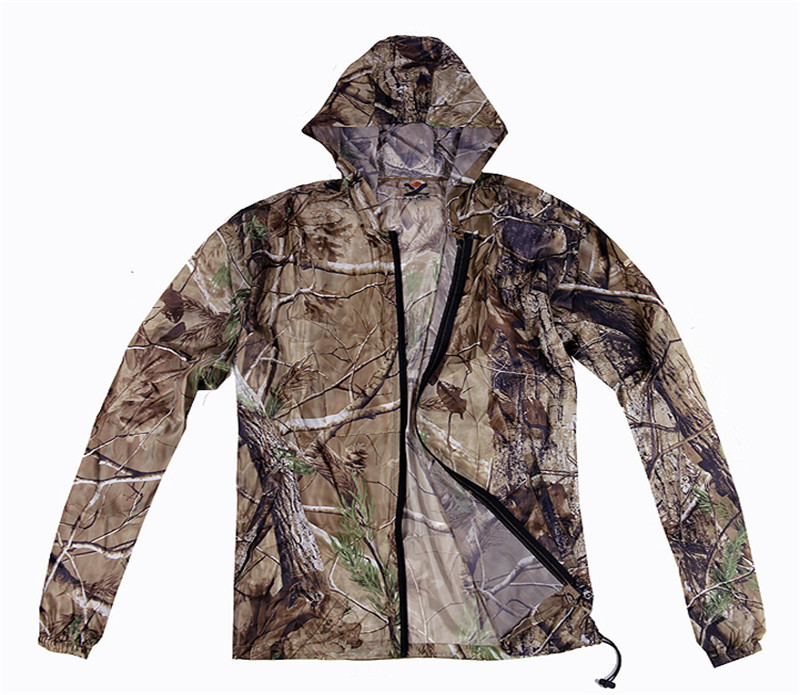 Breathable Long Sleeve T-Shirt Camouflage Quick-Drying Tops Hunting Fishing