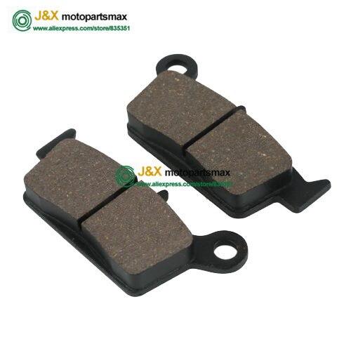 Semi-Metallic Asbestos Free Rear Brake Pads For Yamaha YZ 125 250 YZ 250 K/L/M/N/FN/P/FP 98-02 (Rear )