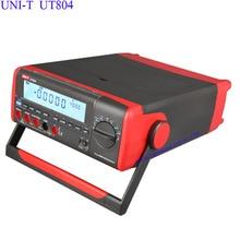 Cheap price True RMS Bench Type Digital Multimeter UNI-T UT804 DMM HZ Temperature Tester Capacitor 40000 Counts w/Data Logging USB RS232