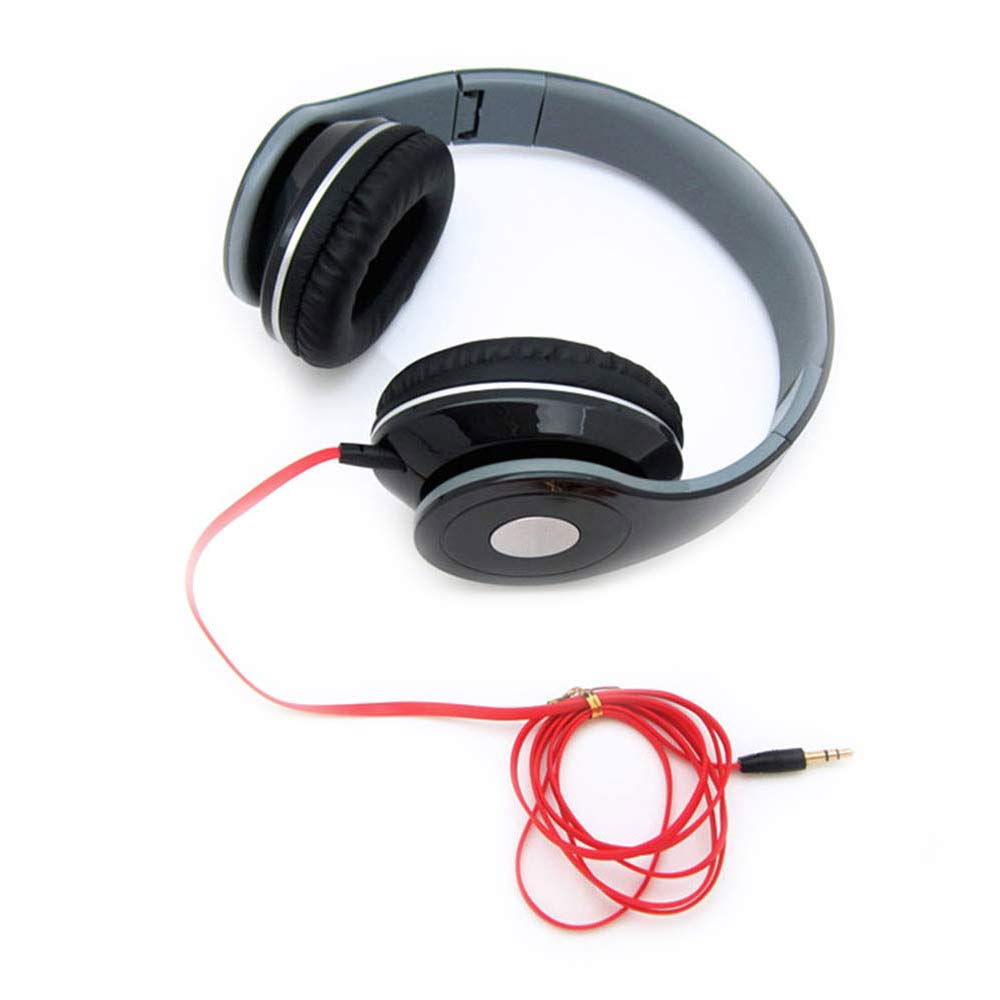 Collapsible Earphone New Gaming Wired Headphones with Stereo Adjustable Headsets 3.5mm for computer Earphones for PC Games