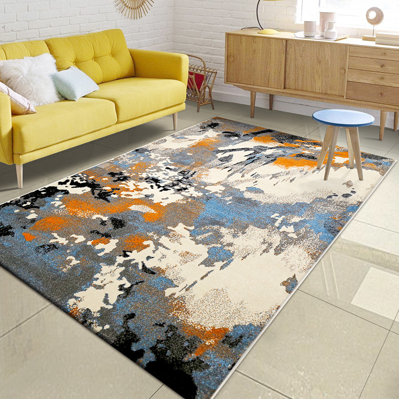 Nordic Style Abstract Carpets For Living Room 100% Polypropylene Bedside Bedroom Home Area Rugs Sofa Coffee Table Floor Carpet