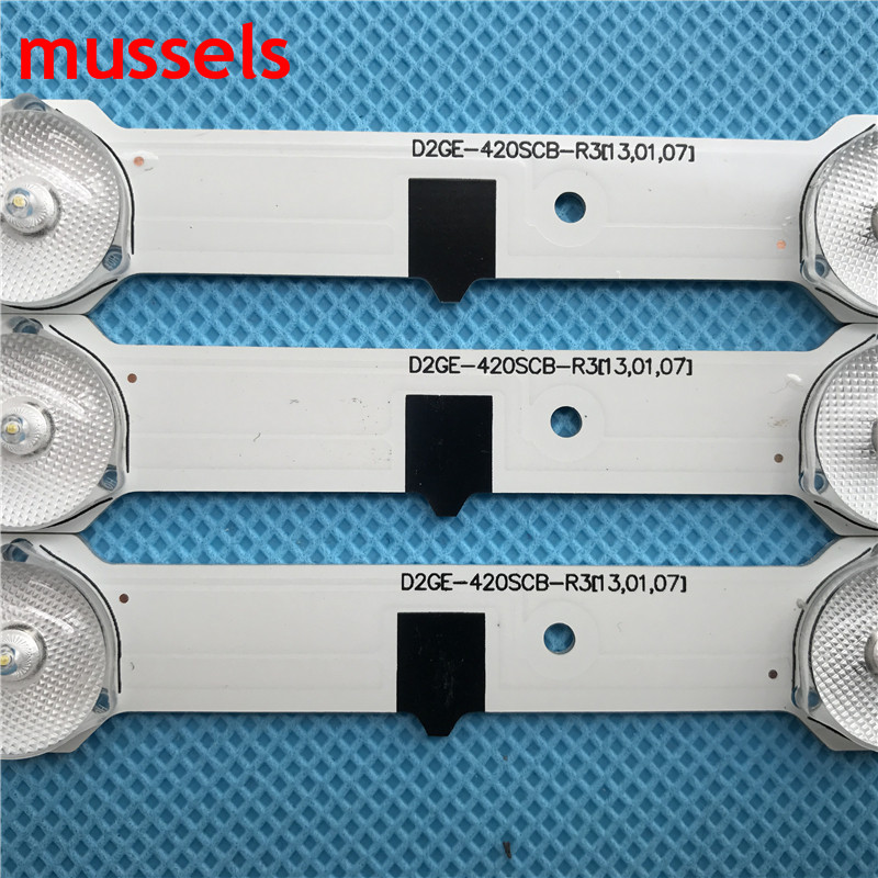"""Image 2 - LED Backlight strip For SamSung 42""""TV 14lamp 880mm D2GE 420SCB R3 D2GE 420SCA R3 2013SVS42F HF420BGA B1 UE42F5500 CY HF420BGAV1H-in Industrial Computer & Accessories from Computer & Office"""