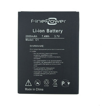 In Stock High Quality Battery Replacement For FinePower C1, Fine Power C1, C 1 Smart Phone + Tracking Number