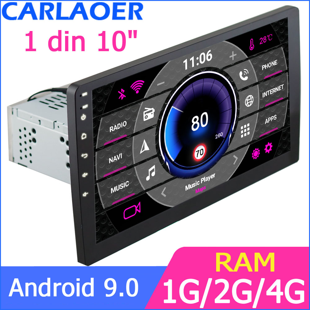 10'' Car Android Multimedia Player Quad Core 2 Din Radio GPS Stereo Wifi Bluetooth RDS Audio For TOYOT Volkswagen VW Nissan Kia