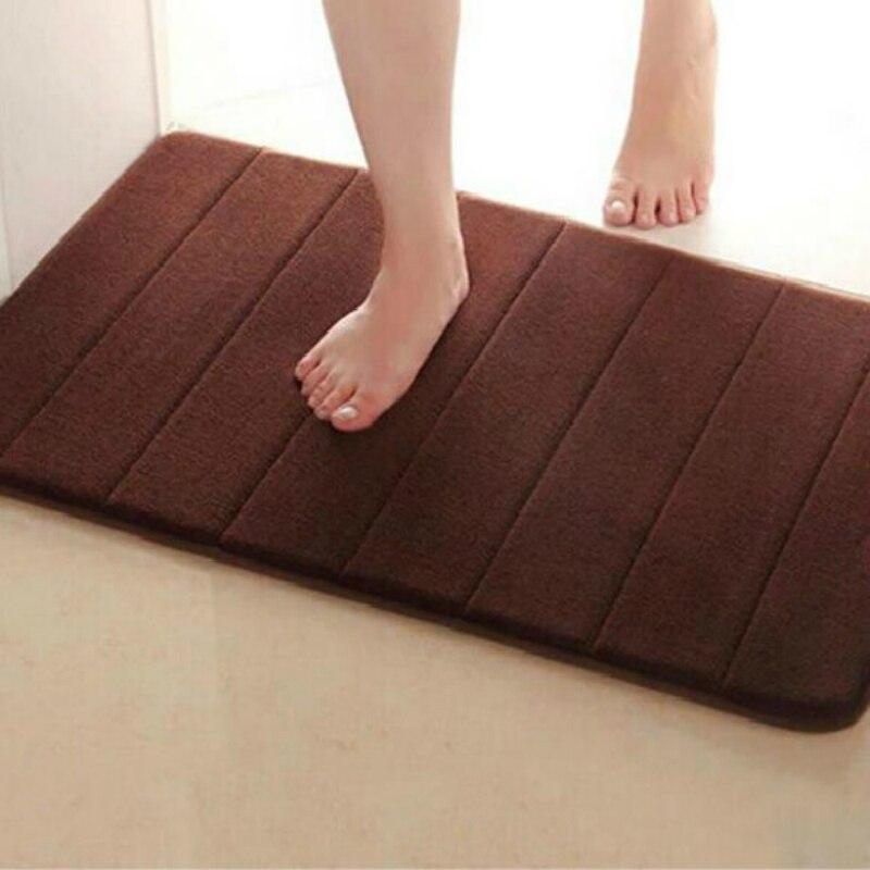 Water Absorption Rug Bathroom Mat Shaggy Memory Foam Bath Mat Set kitchen Door Floor Mat Carpet