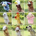 Куклы-Марионетки Плюшевые Куклы Птица Teddy Bear Овцы Пони Лошадь Лев Кукла Fantoche Детей Развивающие Игрушки Brinquedo Игрушки Семьи