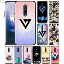 seventeen kpop Phone Case for Oneplus 7 7Pro 6 6T Oneplus 7 Pro 6T Black Silicone Soft Case Cover