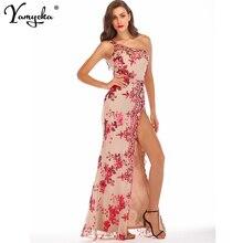 Sexy One shoulder Sequins Long dress women summer party dress elegant robe femme luxury Night club bodycon maxi dresses vestidos цена
