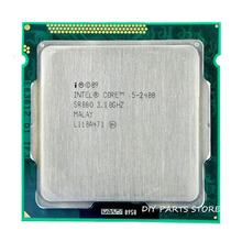 Intel Core i5 2400 i5-2400 3.1 ГГц/6 МБ Socket 1155 CPU Процессор HD 2000 Поддерживается память: DDR3-1066, DDR3-1333