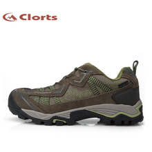 2016 Clorts Men Hiking Boots 3D026A/C Uneebtex Waterproof Hiking Shoes Breathable Climbing Shoes Sports Sneakers
