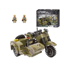 Xingbao Military Motorcycle model building blocks military war figure bricks Compatible With  toys children boy gift xingbao military series artillery canon model building blocks gun figure bricks compatible with toys children gift