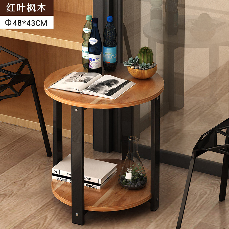 Marvelous Us 49 28 20 Off High Quality 2 Layers Side Desk Coffee Table Living Room Mdf Material Storage Table 40 48X43Cm In Coffee Tables From Furniture On Machost Co Dining Chair Design Ideas Machostcouk