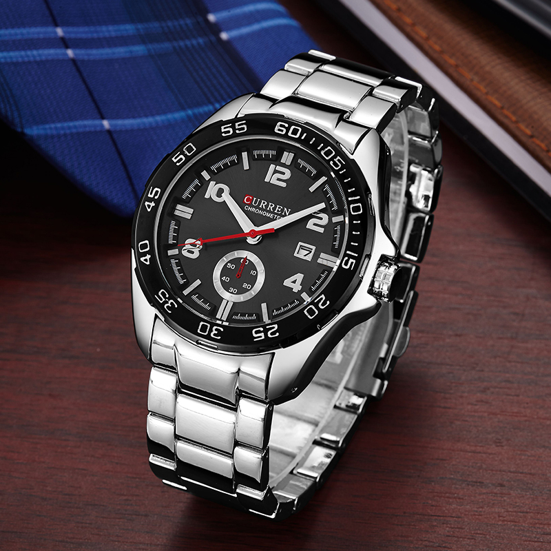 CURREN Mens Watches Top Brand Luxury Military Watch Full Steel Men Sports Watches Waterproof Wristwatches relogio masculino 8113 relojes hombre relogio curren men watches top brand luxury men military wristwatches full steel men sports watch waterproof