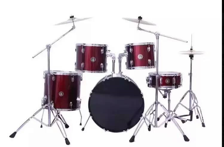 2017China Western musical instruments drums 5 drum 3 cymbals