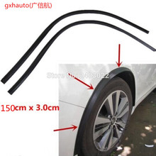 150 см, два шт(один комплект), мягкие колеса, защита для бровей, колеса, арка, накладка, полоса, подходит для vw passat b5 b6 polo sedan