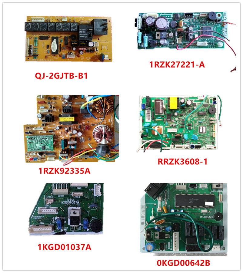 QJ-2GJTB-B1| 1RZK27221-A| 1RZK92335A| RRZK3608-1| 1KGD01037A| 0KGD00642B Used Good Working