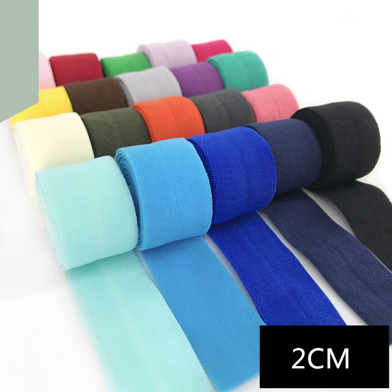 2cm Spandex Elastic Bias Binding Tapes Ribbon Patchwork Quilting Webbing Trim Tape Hem Sleeve Dressmaking Sewing Edge