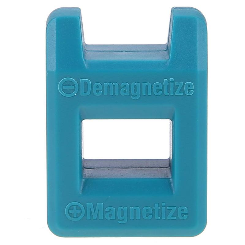 High Quality 2 in 1 Plus ABS Minus Magnetizer Screwdriver Degaussing Demagnetizer Magnetic Pick Up Tool