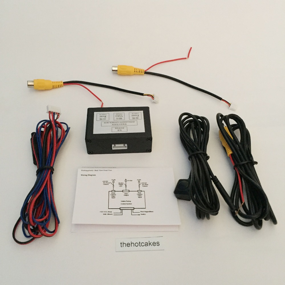 hight resolution of thehotcakes car cameras front and rear view camera image switch control box with view parking camera