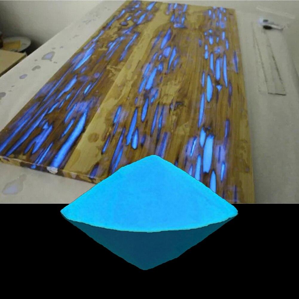 Brilho Areia Luminosa Fluorescente Em Pó Casa Festa Super Bright Durável Escuro Fosforescente Pigmento Brinquedos DIY Portátil