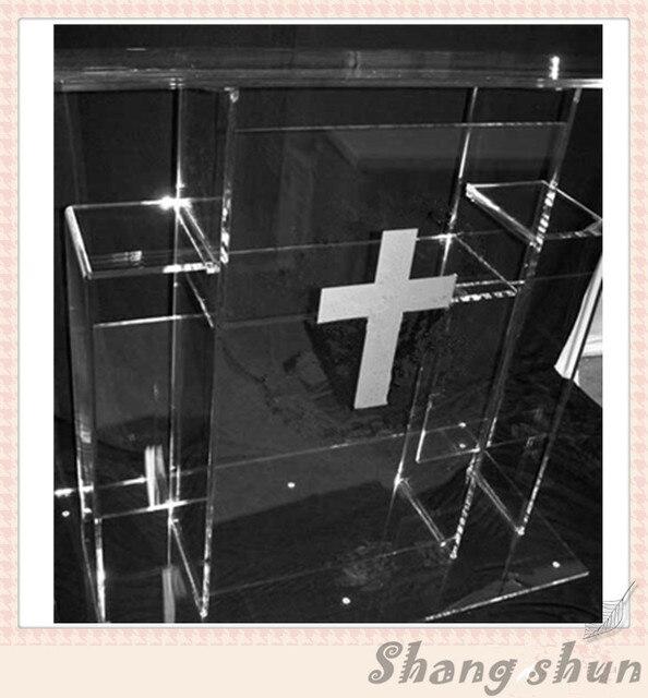 Large Luxury Acrylic Podium Pulpit Plexiglass Podiums Lectern Acrylic Church Podiums Perspex Lectern Acrylic Church Pulpit