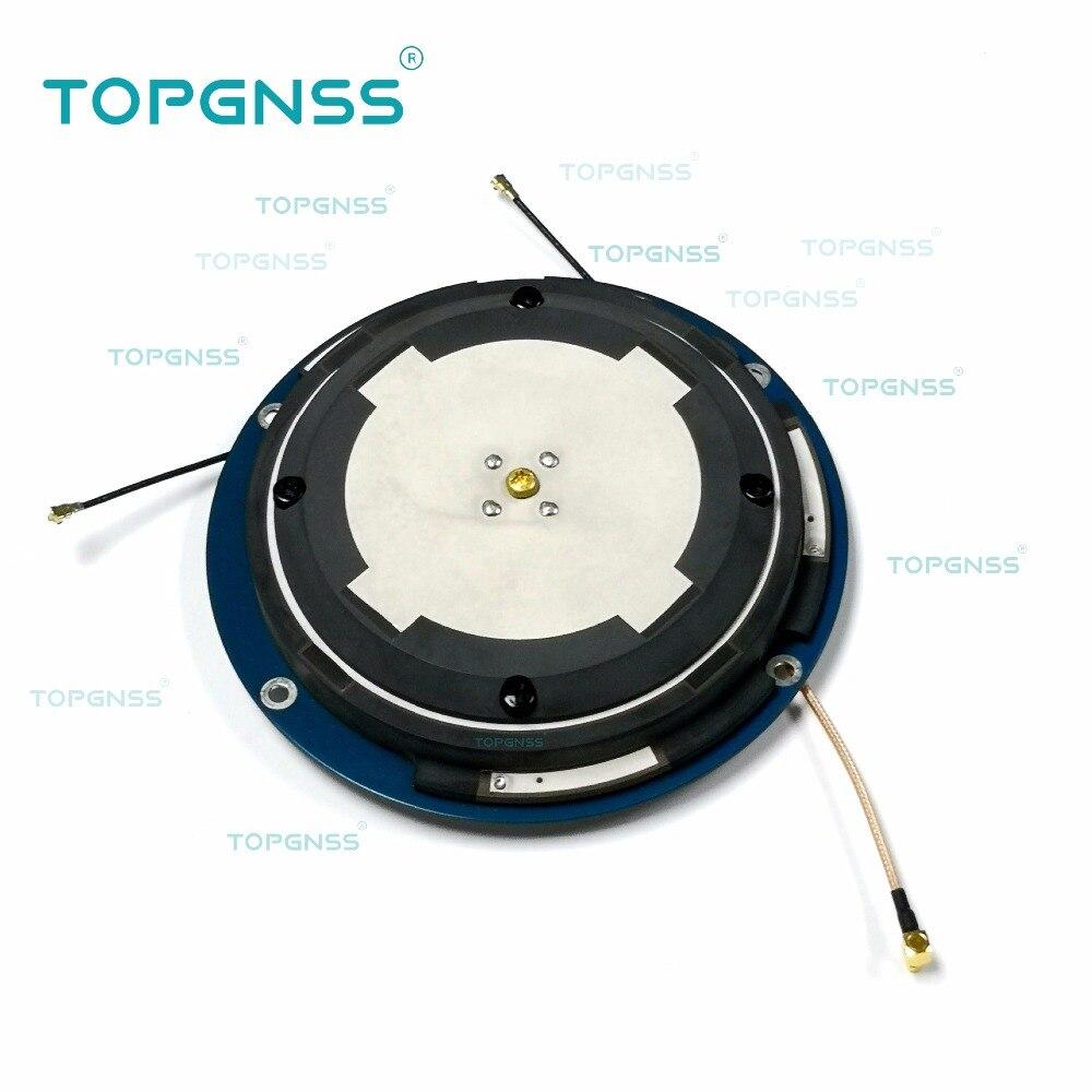 2 PCS Haute-Précision CORS RTK antenne, GNSS Reciver antenne OEM ODM personnalisation GPS/Glonass/GALILEO/Beidou/4G/WIFI/BT antenne,