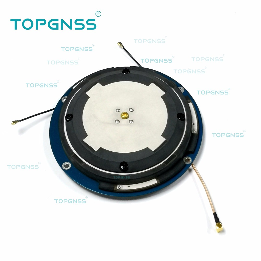 2 pièces haute précision antenne CORS RTK, antenne récepteur GNSS personnalisation OEM ODM GPS/Glonass/GALILEO/Beidou/4G/WIFI/BT antenne,