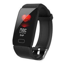 цены на Q1 Smart Bracelet Blood Pressure Heart Rate Smart Band Sleep Monitoring Waterproof Smart Watch for Xiaomi PK Mi Band 3  в интернет-магазинах